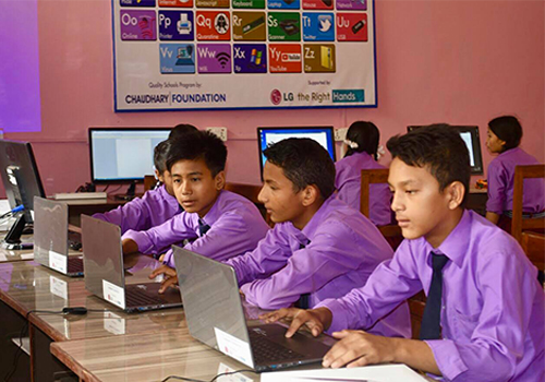 Chaudhary Foundation, in partnership with LG, to create digital classrooms in rural Nepal