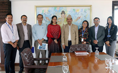 Chaudhary Foundation signed MoU with Poverty Alleviation Fund to revive Nepali arts and crafts