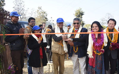 Chaudhary Foundation is helping rebuild the lives of more than 350 villagers in Giranchaur brick by brick.