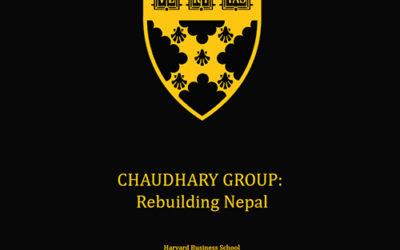 Harvard Business School Case study on Chaudhary Foundation